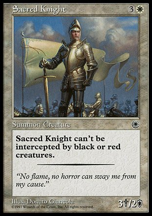 Magic: the Gathering - Sacred Knight - Portal by Magic: the Gathering