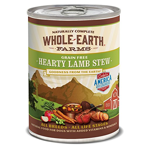 Merrick Whole Earth Farms Grain Free Hearty Stew Canned Dog Food, 12.7 Oz., Case Of 12