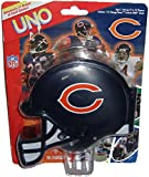 Qiyun Official NFL Football Chicago Bears Uno Card Game with Helmet Case RARE