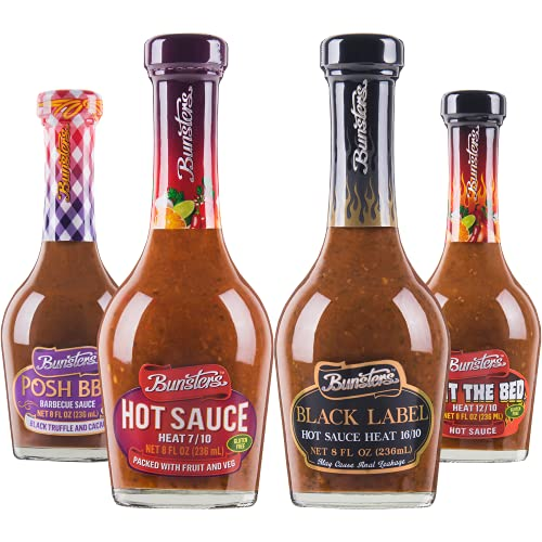 Bunsters Hot Ones Hot Sauce Gift Pack