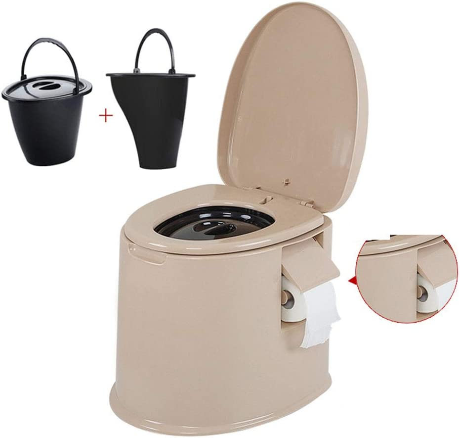 Thole Inodoro Portátil Químico Baño WC con Tapa para Camping ...