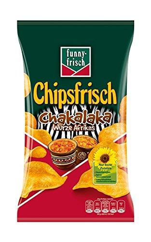 Funny Frisch Chipsfrisch Chakalaka Würze Afrikas 175g