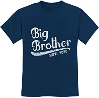 Gift for Big Brother 2020 Kids T-Shirt with Big Brother Stickers