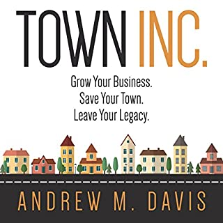 Town Inc. audiobook cover art