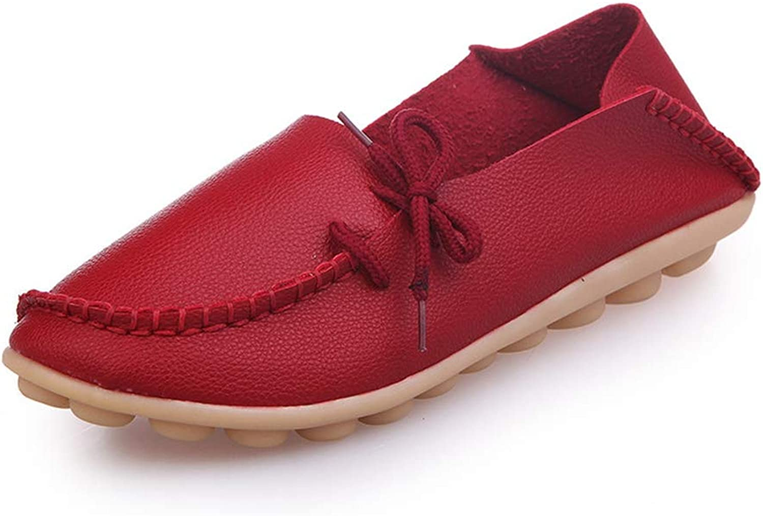 T-JULY Women's Casual Flats shoes Woman Loafers Slip-On Girls Flats Driving shoes Leisure Footwears Peas Loafer Flats shoes