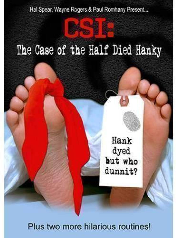 SOLOMAGIA CSI  Half Dyed Hanky  Stage Magic  Magic Trick