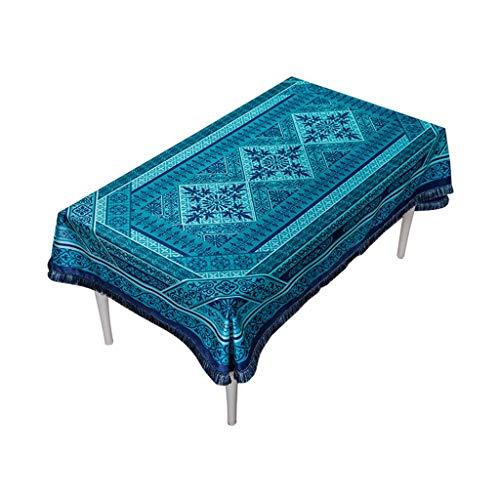 Couverture de table anti-poussière de nappe rectangulaire American Vintage nappe pour la décoration de table de table parties intérieures ou extérieures, utilisation quotidienne ( taille : 140*200cm )