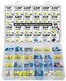 Kit assortimento di condensatori in poliestere metallizzato MKT PET Film Box 235 pezzi, 24 valori, 63V, 1nF a 1uF