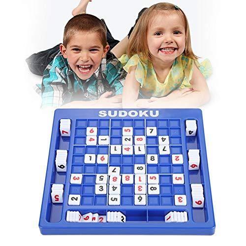 Sudoku puzzel Kinderen Sudoku puzzel Bordspel Nummer Kubussen Tafelspel Educatief wiskunde Leren puzzel Speelgoed voor kinderen Volwassene, 9,92 x 9,45 x 0,71 inch