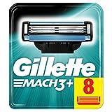 Gillette Lames de rasoir Mach3+ - Les 8 lames