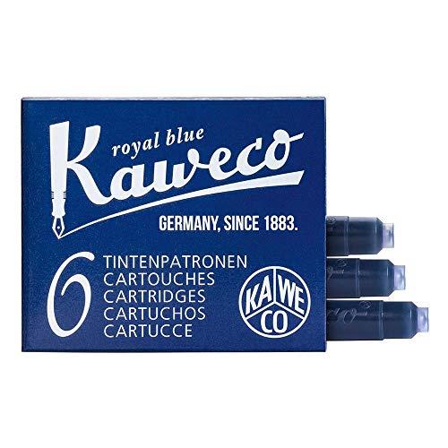 Kaweco - Cartuchos de tinta corta, color azul