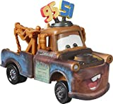 Disney Cars Toys Pixar Cars Die-Cast Oversized Team 95 and 51 Mater Vehicle, Collectible Toy Truck Gifts for Kids Age 3 and Older, Multi