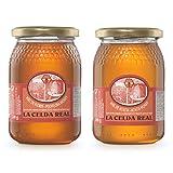 La Celda Real - 1 kg Miel Natural - Pack 2 sabores: Miel Acacia + Miel Polyflora/Multifloral - 100% Natural - Tarro de cristal - Origen España