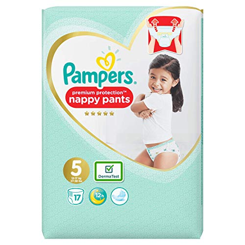 Pampers Premium Protection Pants, Größe 5, 17 Windeln