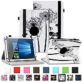 NAUC Asus ZenPad 3 8.0 Tablet Schutzhülle Tasche Tablettasche Hülle mit Standfunktion 360° drehbar hochwertige Kunst-Leder Verarbeitung Cover viele Motive Universal Tablethülle Hülle, Farben:Motiv 7