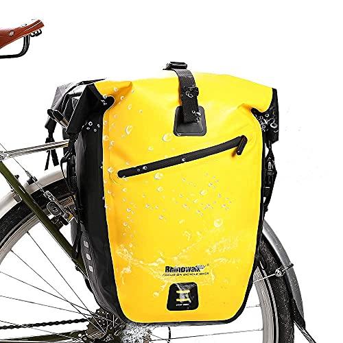Rhinowalk Bike Bag Waterproof Bike Pannier Bag...