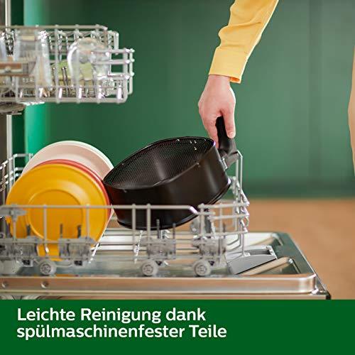 Philips HD9260/90 Airfryer XL – Das Original (Heißluftfritteuse, 1900 W, für 3-4 Personen, 1200 g Kapazität, digitales Display) schwarz - 7