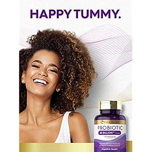 Probiotics 50 Billion CFUs | 120 Capsules | with Prebiotics for Women & Men | Non-GMO & Gluten Free Supplement | by Carlyle