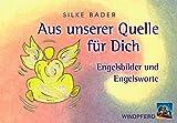 SET - Aus unserer Quelle für Dich: 44 Engel-Karten mit Anleitung. Engelsbilder und Engelsworte, die die Seele berühren und das Herz erfreuen - Silke Bader