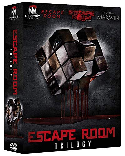 WILLIAMS,STEPHENSON,HOWER,JOHNSON,IERARDI,ULRICH,YOUNG,DONLON,WAYNE,MCVAY,GALLEG - ESCAPE ROOM TRILOGY ( BOX 3 DV) (3 DVD)