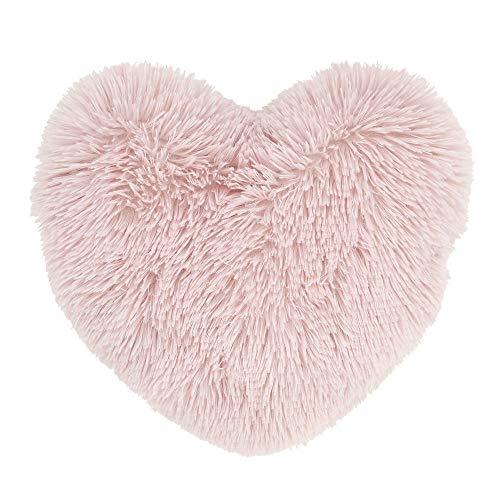 Catherine Lansfield Cuddly Heart 3D Cushion Blush