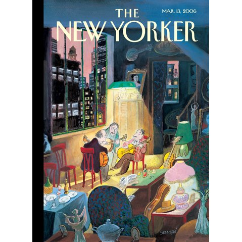 The New Yorker (March 13, 2006) cover art