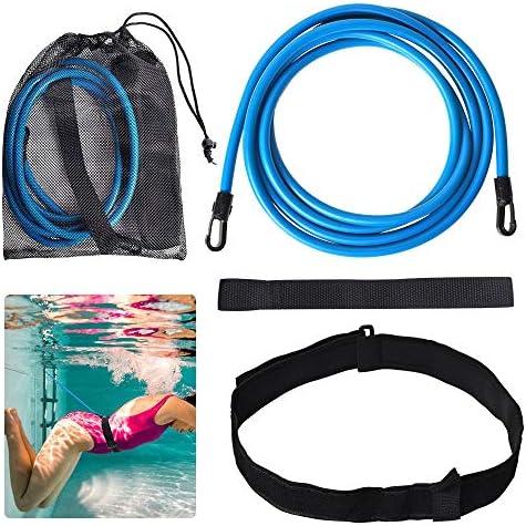 Lifella Swim Training Belt Swim Resistance Band Swim Tether Swimming Tools for Distance Swimmer product image