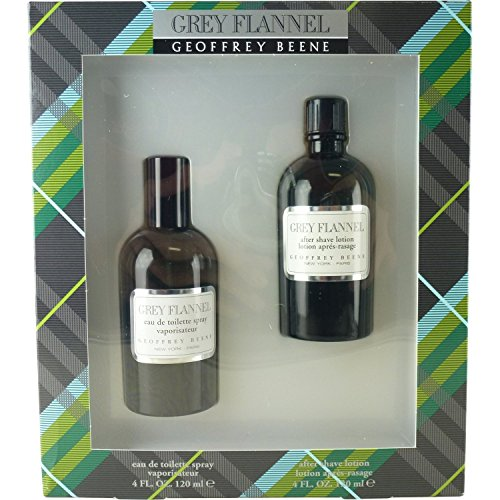 Geoffrey Beene Grey Flannel Geschenkset 120ml EDT + 120ml Aftershave Lotion
