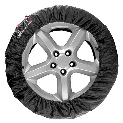 Reifenhüllen, Set 4 Stk, Reifenschutzhüllen, Schutzhülle für Autoreifen, mit Markierung, Kordelzug, Reifentasche, Kfz, Kfz Zubehör, Winterreifen, Sommerreifen