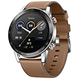 HONOR Magic Watch 2, Pantalla 1.39 'AMOLED, Kirin A1, GPS GLONASS, 6 sensores, IP68, batería 455 mAh, 42 mm, Marrón