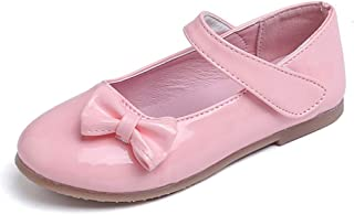 FORTUN British Wind Kids Shoes Girls Princess Shoes Dress Shoes Flat Shoes Loafers