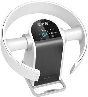QZ Ventilador Ultra-silencioso Ventilador sin aspas Control Remoto Aire Acondicionado Velocidad del Viento Ajustable Ventilador montado en la Pared para Ventilador de la Oficina en casa