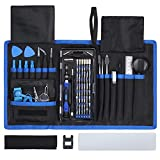 Justech Precision Screw Driver Repair Tool Set de destornilladores, azul