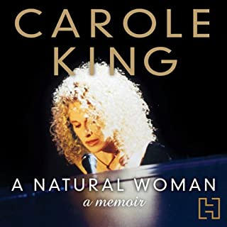 A Natural Woman audiobook cover art