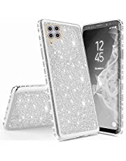 Mylne for Huawei P40 Lite Glitter Case,Electroplating Bling Diamond Soft Gel TPU Silicone Shockproof Protective Shiny Sparkle Case Cover