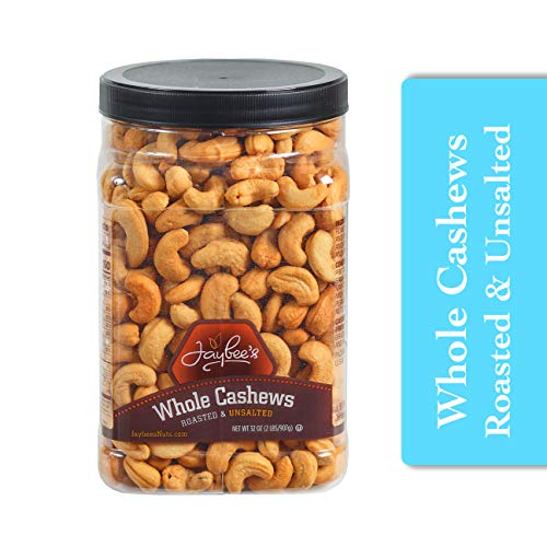 Whole Unsalted Cashews