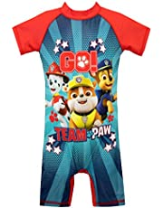 Paw Patrol Boys' Swimsuit Red Size 6