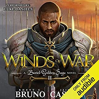 Winds of War                   By:                                                                                                                                 Rhett C. Bruno,                                                                                        Jaime Castle                               Narrated by:                                                                                                                                 Luke Daniels                      Length: 11 hrs and 8 mins     217 ratings     Overall 4.5