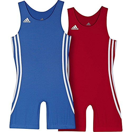adidas Wrestling Twin Pack Kids 059473 air force blue/light scarlet (XL)