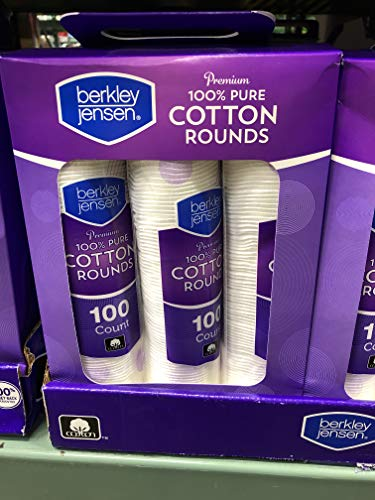 Berkley Jensen Premium Cotton Rounds, 6 pk./100 ct.