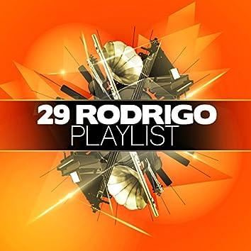 29 Rodrigo Playlist