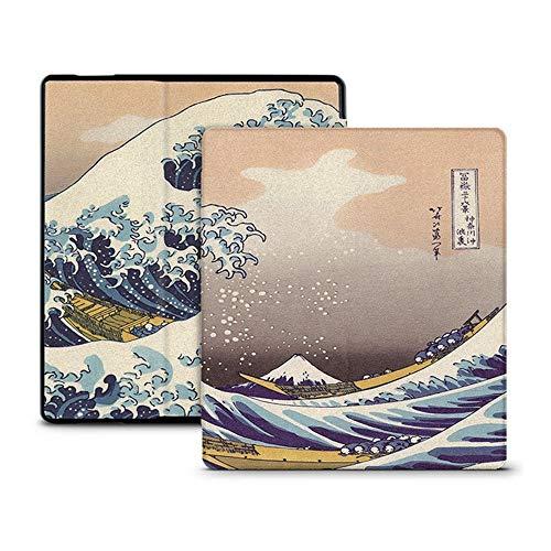 WDBHTAO Caso Kindle Moda Coperchio Verniciato Caso Montare 7 Pollici Kindle Oasis 2 (9° Generazione) Ereader per Kindle Oasi 2017 Magnete Smart Cover (1Pz.)