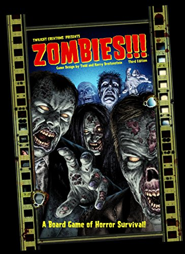 Twilight Creations Zombies Third Edition Board Game