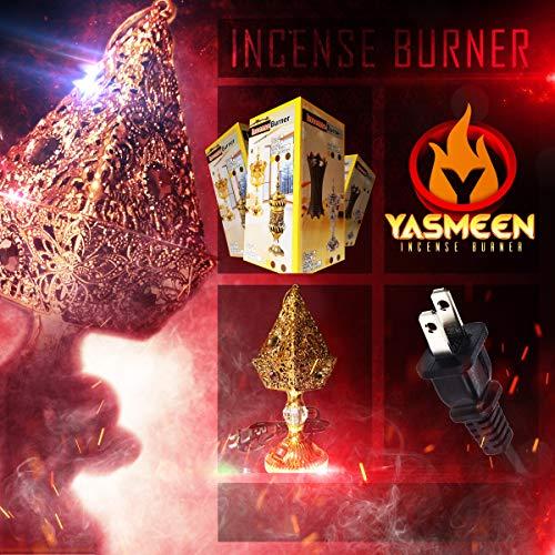 Yasmeen Pyramid Electric Incense Burner
