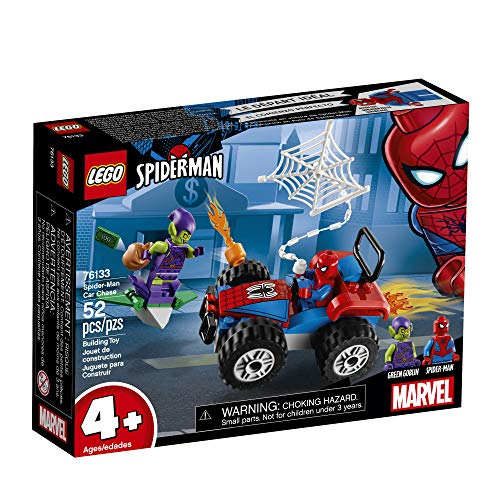 Product Image 3: LEGO Marvel Spider-Man Car Chase 76133 Building Kit, Green Goblin and Spider Man Superhero Car Toy Chase (52 Pieces) (Discontinued by Manufacturer)