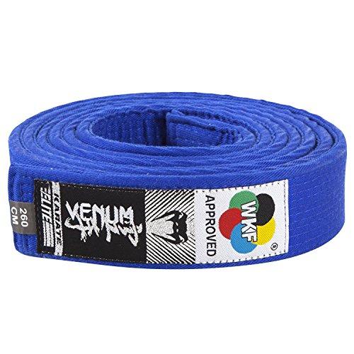 VENUM Karate Belt - Cinturón de Karate, Color Azul, 260 cm