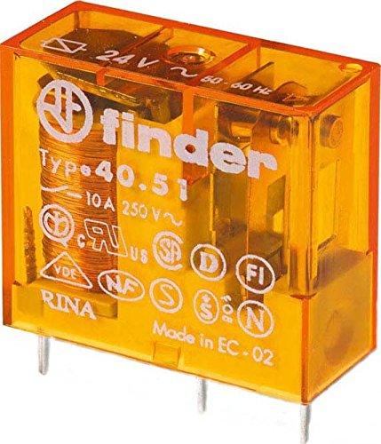 Finder Steck/Printrelais 230 V AC, 1 W, 10 A, 1 Stück, 40.51.8.230.0000