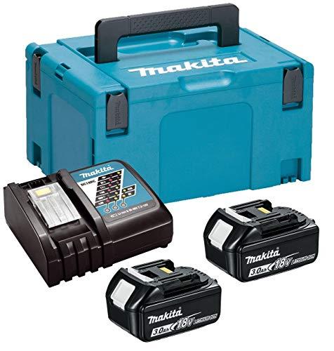 Makita Power Source Kit 18V mit 2x BL1830B Akku 3,0Ah + DC18RC Ladegerät