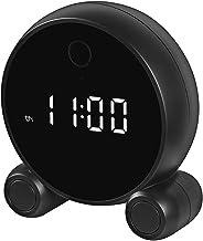 Câmera Relógio Inteligente Câmera Relógio WiFi Multifuncional com Resolução 1080P Áudio bidirecional Detecção de movimento...