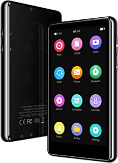 """Mp3 Player with Bluetooth 5.0,Tengsen 16GB 4.0"""" Full Touchscreen HD Video Mp4 Mp3 Music Player with Speaker,Portable HiFi ..."""